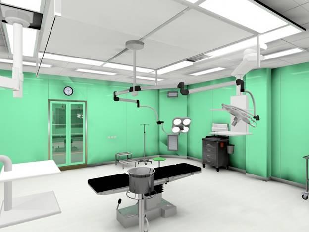 石家庄第二人民医院手术室装修工程