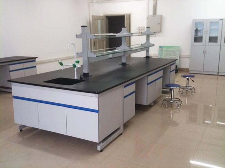 钢木实验室操作台